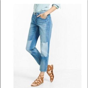 Express Distressed Relaxed fit Mid Rise jeans 6